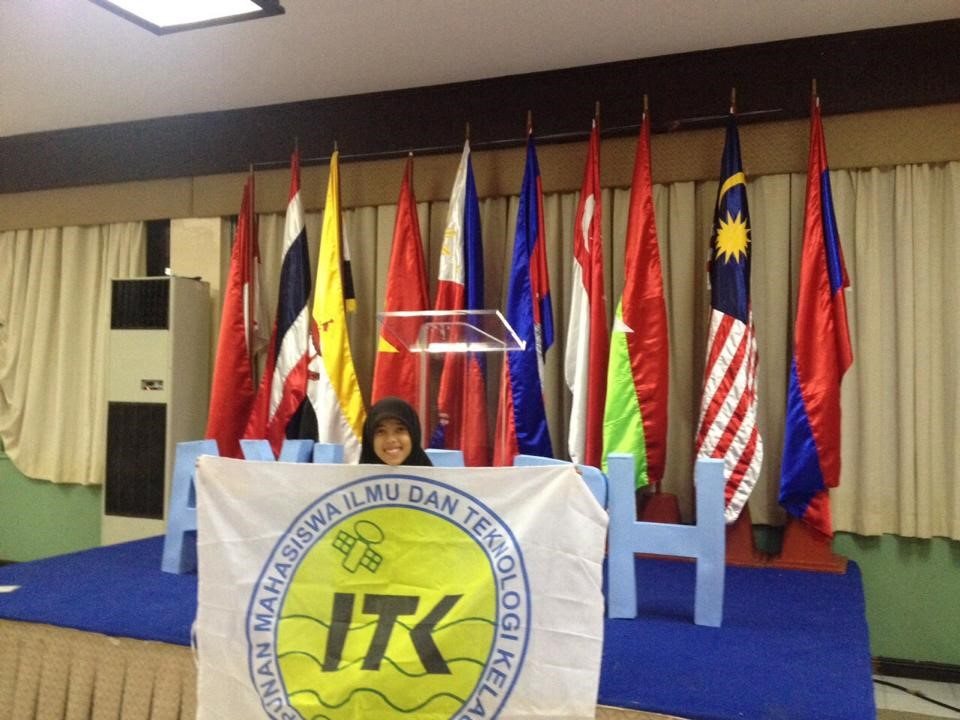 Rivalni Septiadi sebagai delegasi Indonesia dalam ASEAN Youth Leaders Association in Philippine